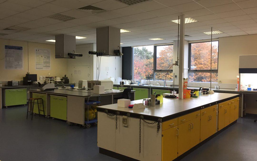 October 2016: Shiny New Lab