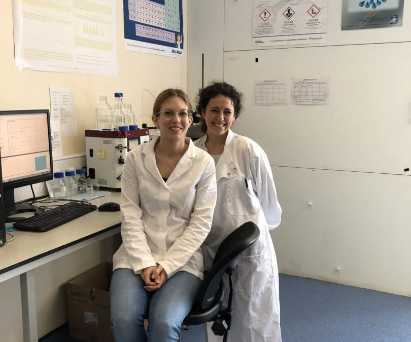 The group is growing: welcome to Valentina and María!